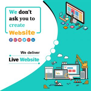 We Dont ask you to Create Website Online