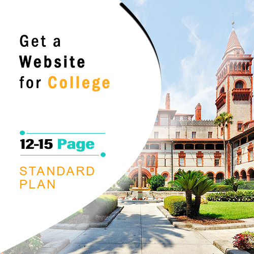 Basic College Website Development, college web design