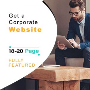 Corporate Website Design Package, website development company