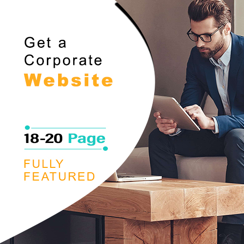 Corporate Website Design Package