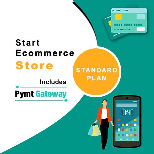 start online store, e commerce web development