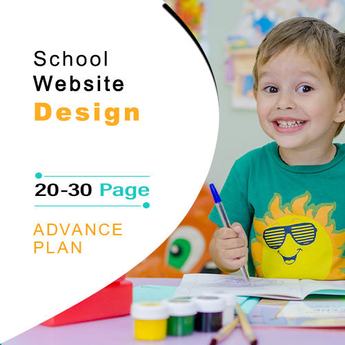 advance school website design