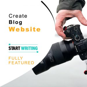 Create Blog Website