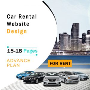 Car Rental Website Design Plan