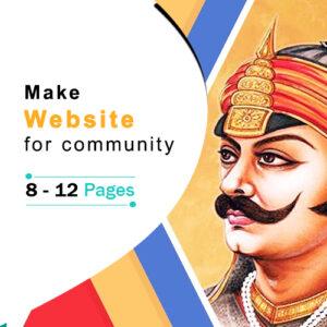 Community Website Plan