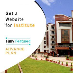 Institute Website Design