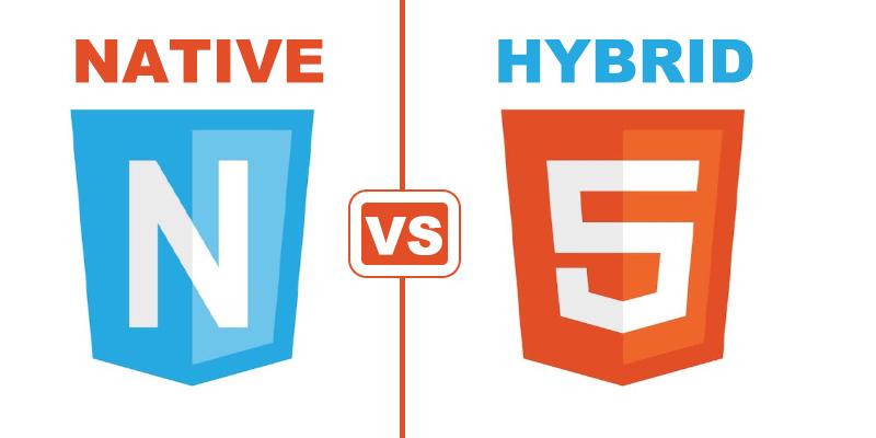 Hybrid mobile app vs Native mobile app